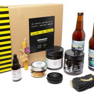 Pack de regalo 28 lunas con Cerveza Castreña